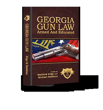 Georgia Gun Law Book graphic